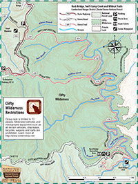 Wildcat Trail #228 Map