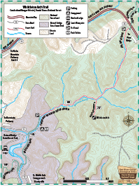 Whittleton Arch Trail #217 Map