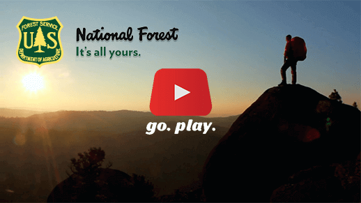 National Forest: It's all yours. Go Play.