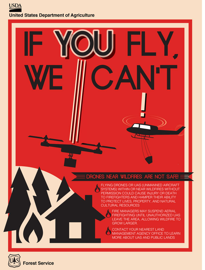 If you fly we cannot