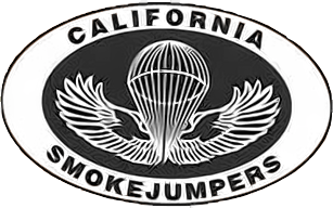 Logo of the California Smokejumpers
