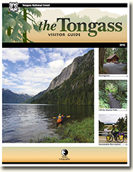 Tongass Visitor Guide cover.