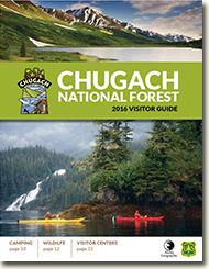 Chugach Visitor Guide cover.