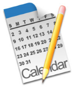 image of a calendar with dates