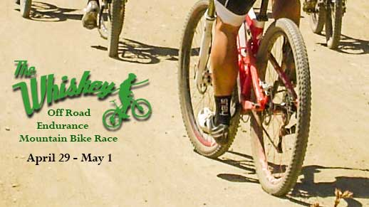 Whiskey Off Road Mountain Bike Race April 29 to May 2