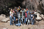 Hot Springs High School Students, members of the Black Range Volunteers