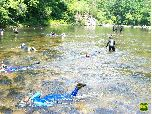 Image of snorkeling in the Cherokee National Forest