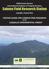 Cover of the Visitor Guide for Conducting Field Research in the Luquillo Experimental Forest PDF