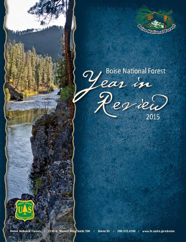 Photo of front cover of 2015 Annual Report