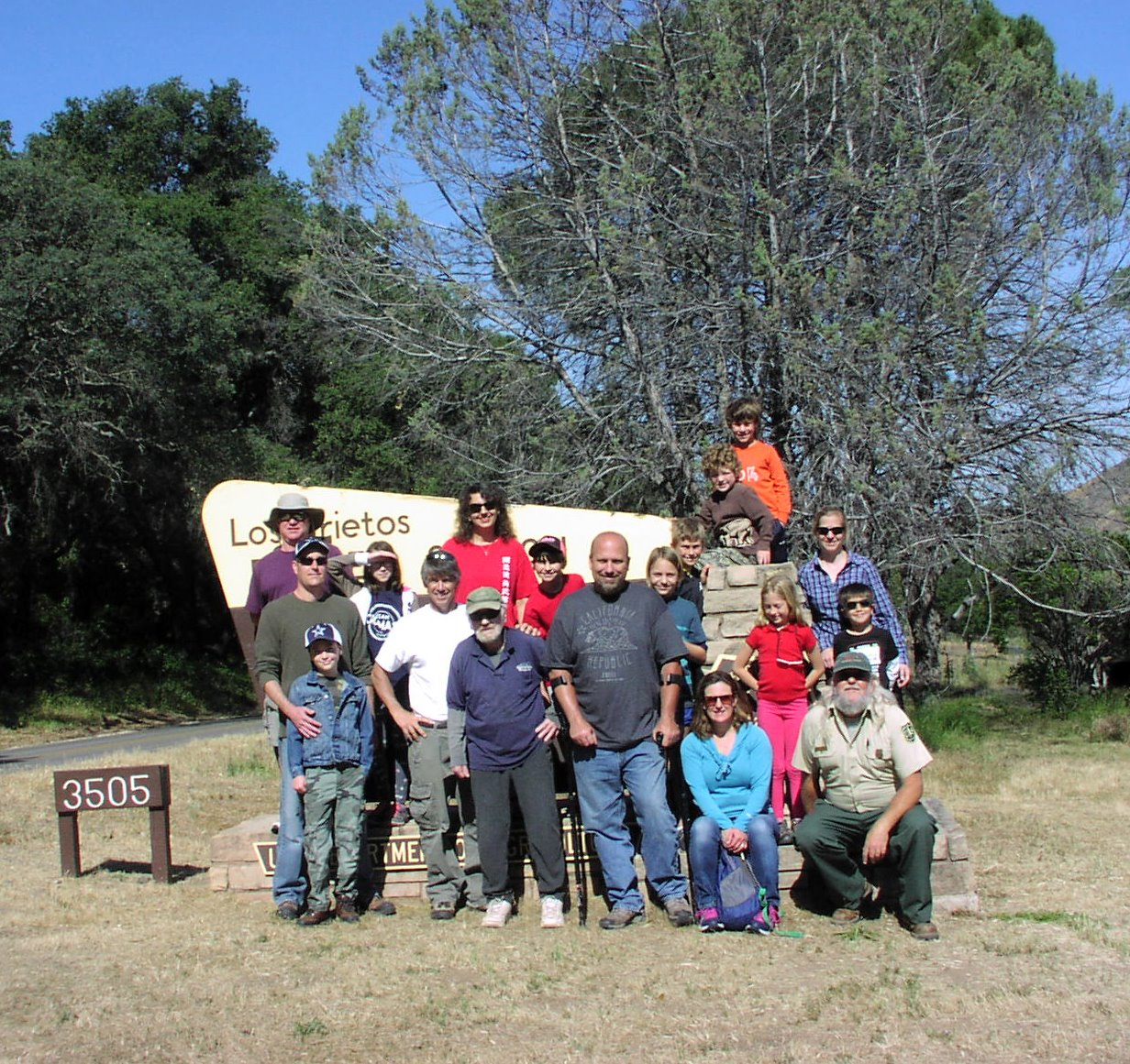 [image] South Coast Karate Club Cleans up the Santa Ynez River