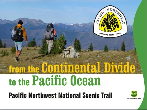 Cover sheet for what is Pacific Northwest trail document.