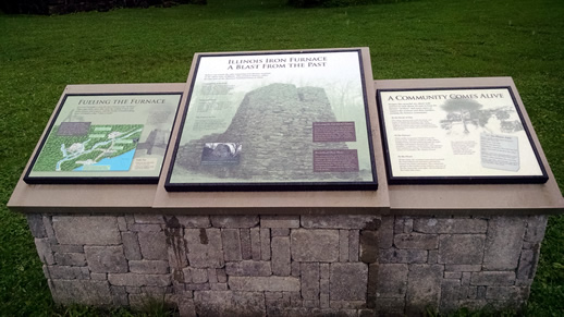 Iron Furnace Interpretive Signs
