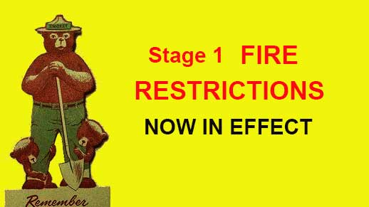 Stage 1 Fire Restrictions now in effect on Prescott National Forest