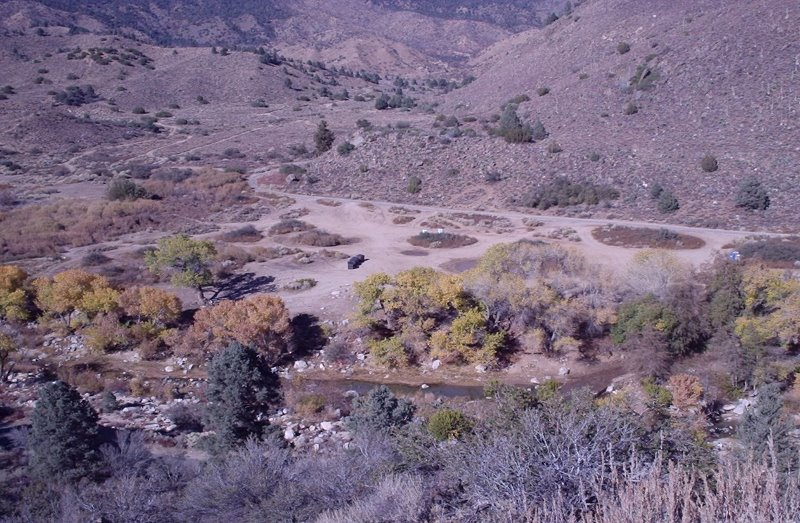Los Padres National Forest - Goldhill Camping Area