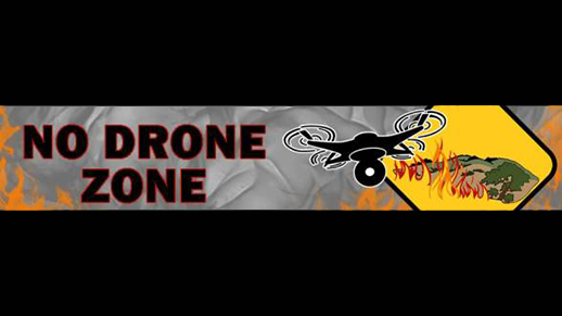 Sign No Drone Zone.