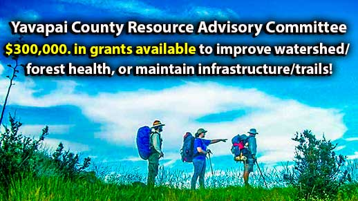 $300,00. in grants available for watershed/forest health/infrustructure projects