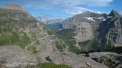 View of Glacier National park