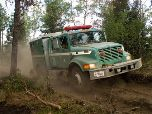 Engine 32 from the Plumas National Forest working their division on the Waldo Canyon Fire.