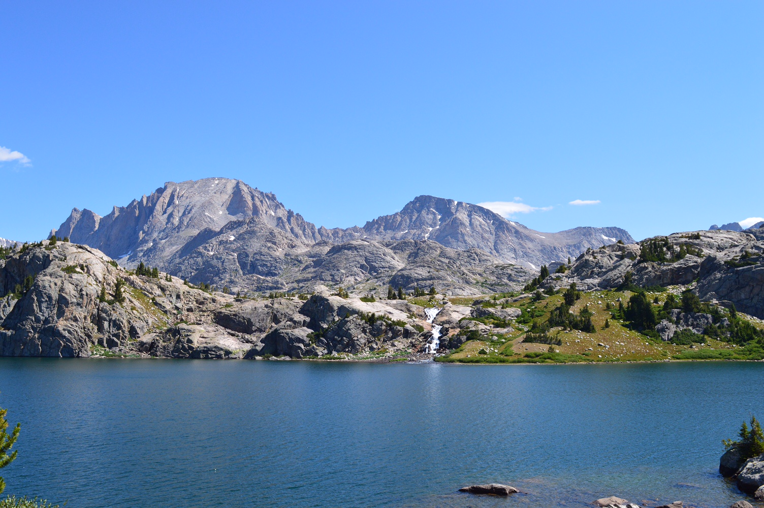 Beautiful Mountain and Lake taken from the Pinedale Ranger District Area.
