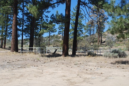Big Pine Flat Equestrian Group Campground Stables