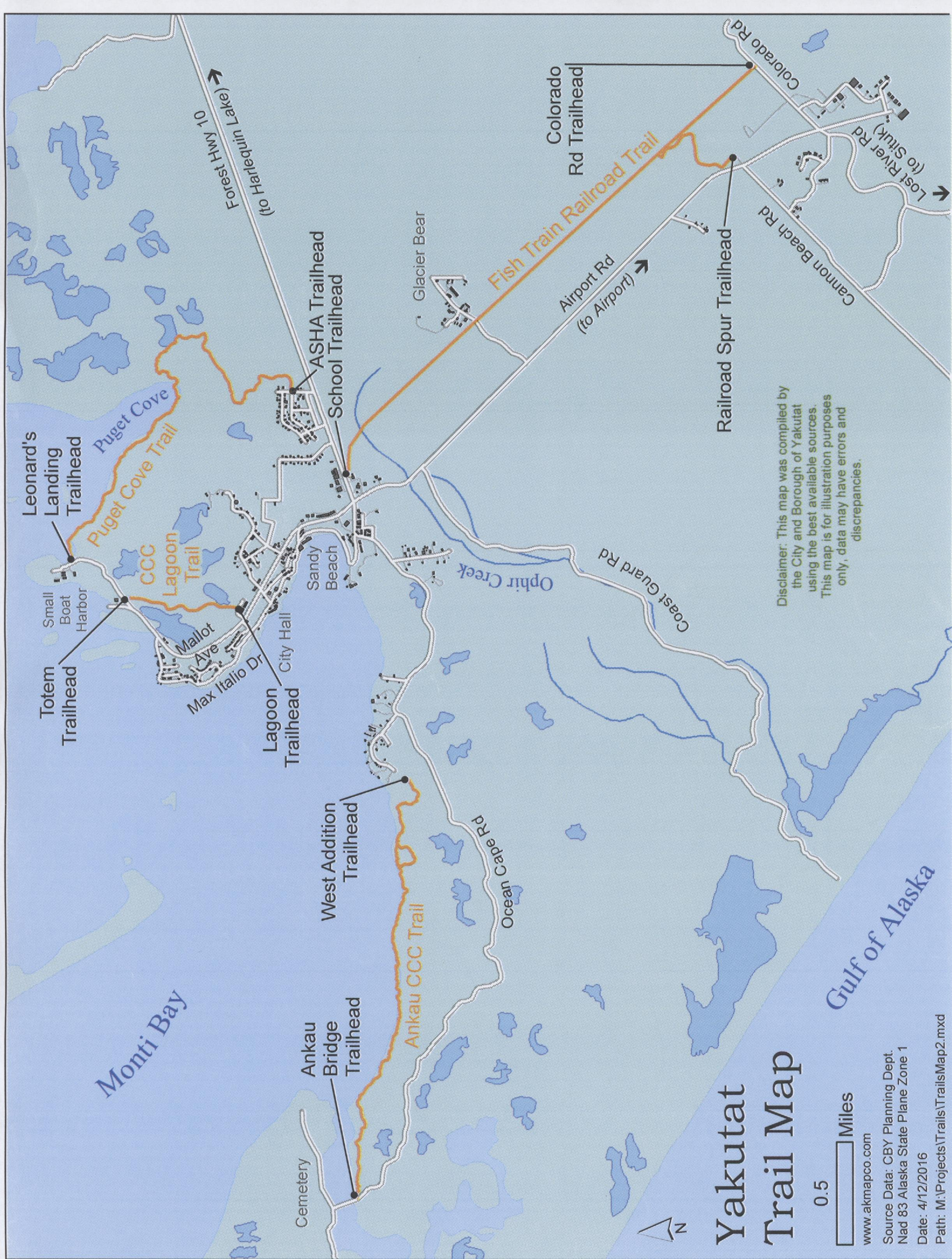 Ketchikan Alaska Map Google.Tongass National Forest Maps Publications