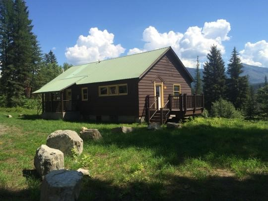Anna Cabin now in the cabin rental program.