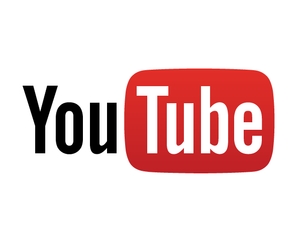 You Tube logo with the word tube inside a red box