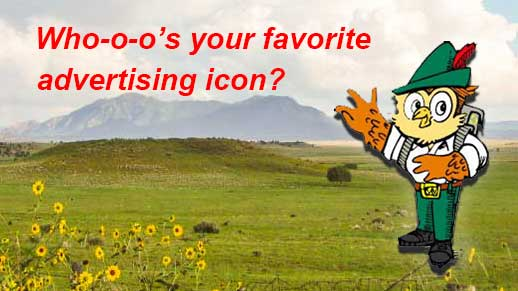 Whooo's your favorite advertizing icon?