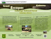 Great Escape brochure front - Oakmulgee District