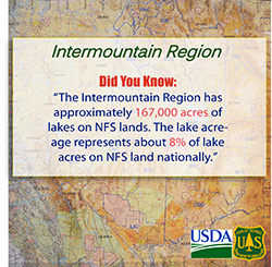 Did you know the Humboldt-Toiyabe National Forest receives about 4 million visitors each year?