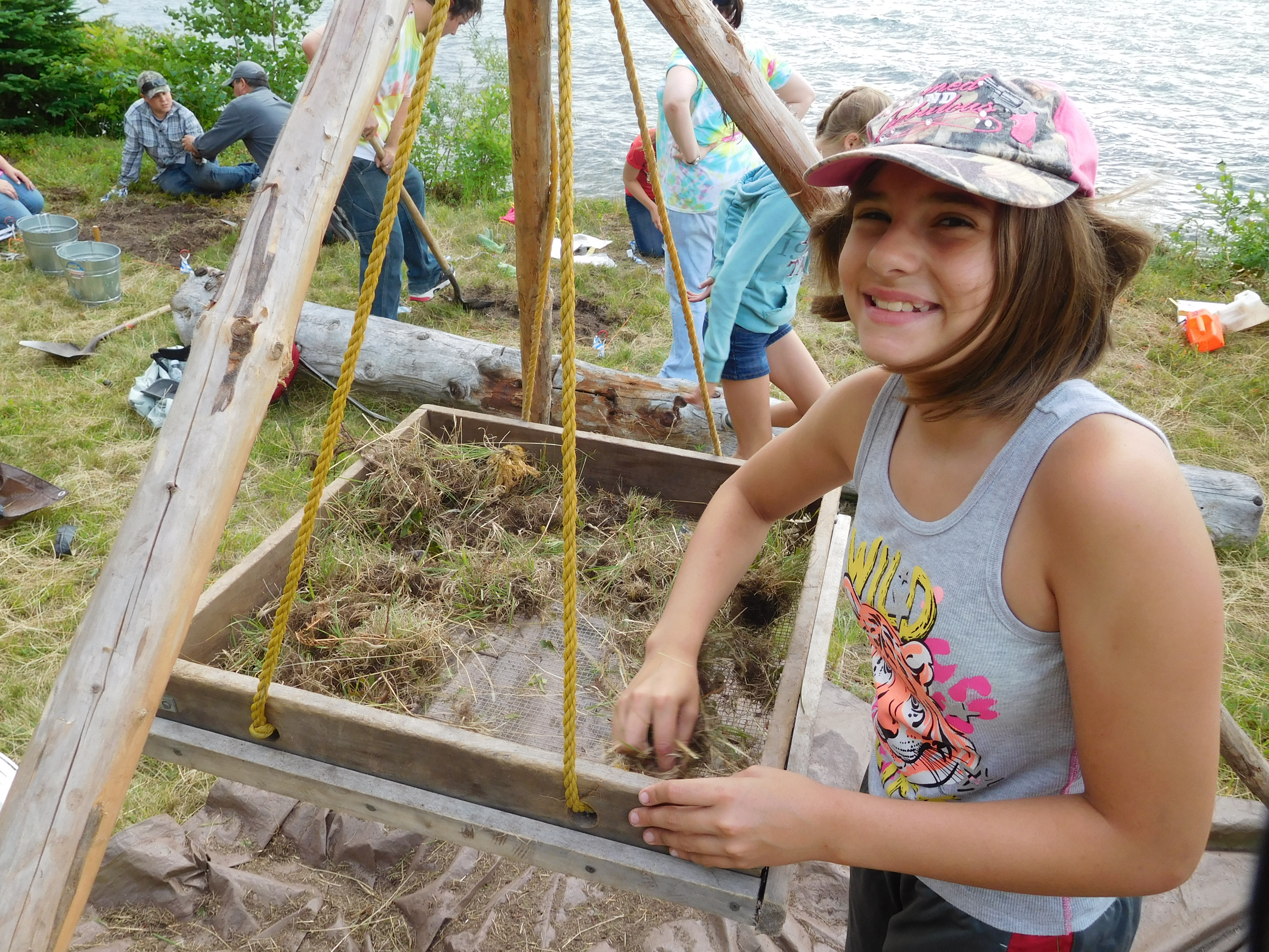 Preservation 50 - Grand Island youth Archeology Workshop