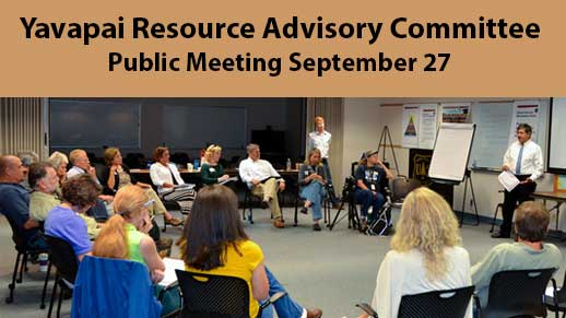Yavapai Resource Advisory Committee Public Meeting September 27