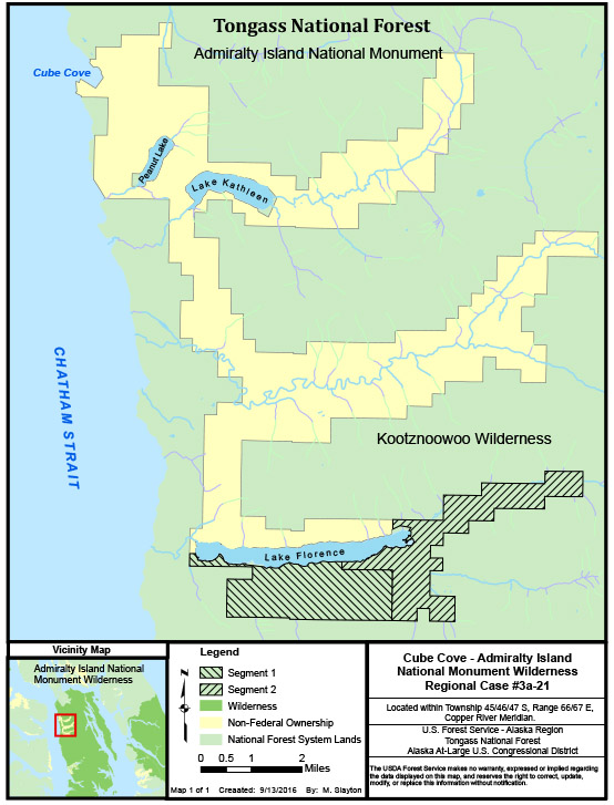 Tongass National Forest News Events - Map of us purchases