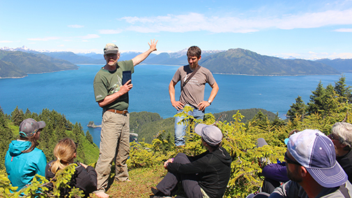 Inian Islands Wilderness Area teacher lead expedition