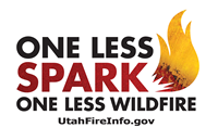 One Less Spark One Less Wildfire Logo