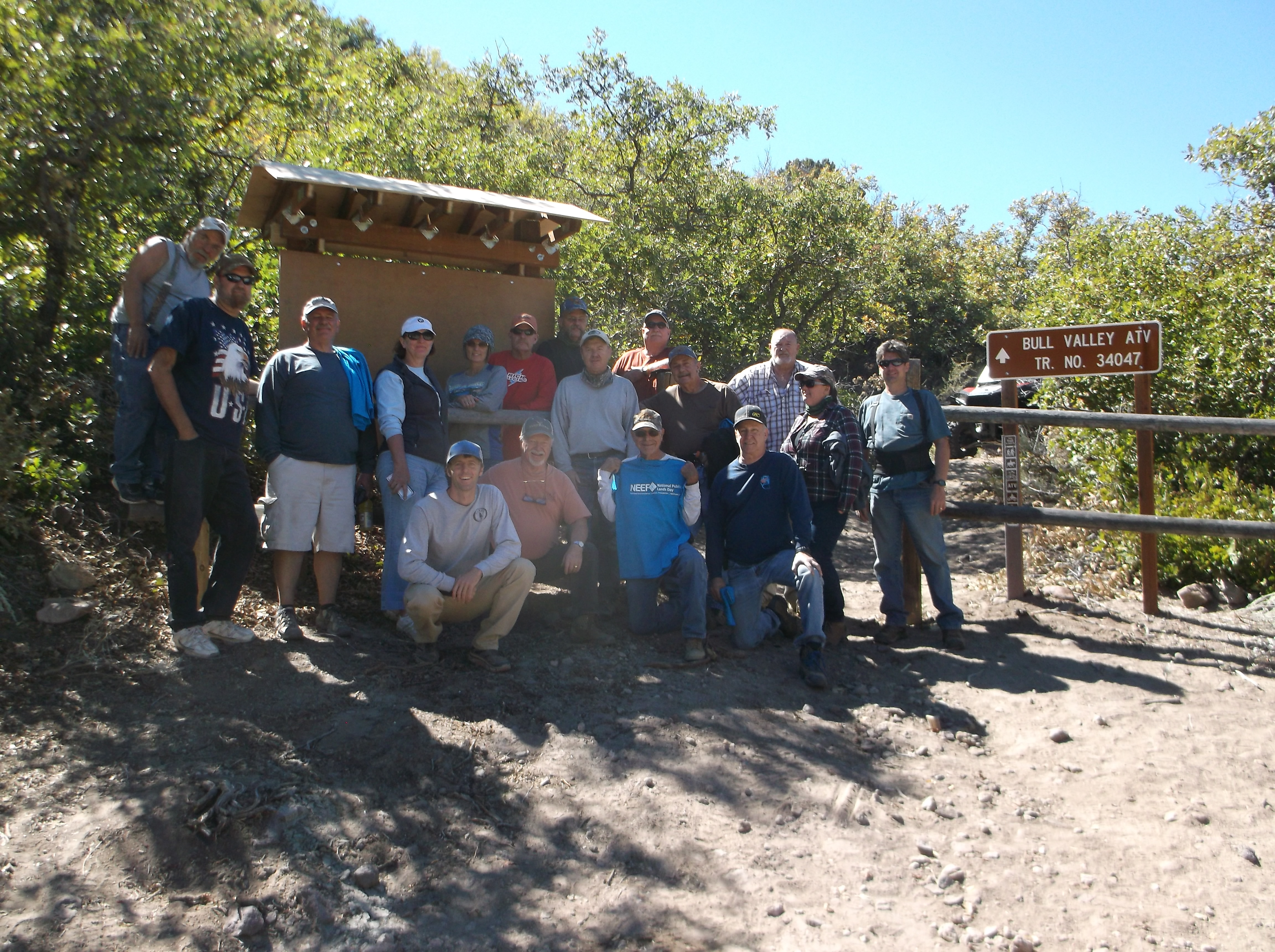 National Public Lands Day on the Pine Valley Ranger District 2016