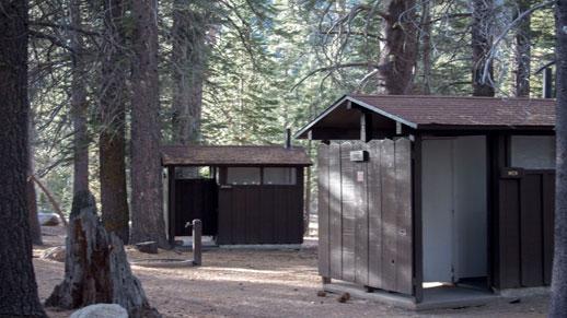 Clark Fork Campground Restroom