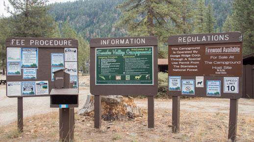 Eureka Valley Information Board