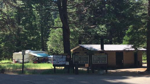 Fraser Flat Campground Restroom