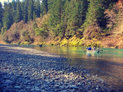 Chetco River fishing