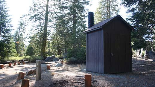 Cascade Creek Campground Restroom