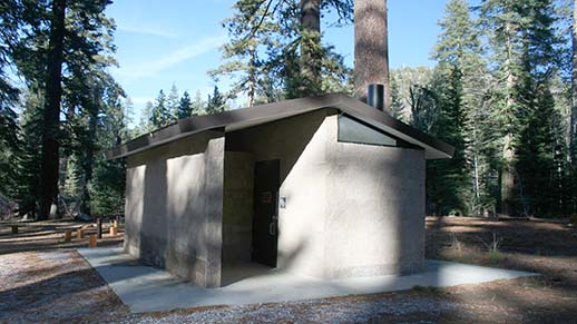 Mill Creek Campground Restroom