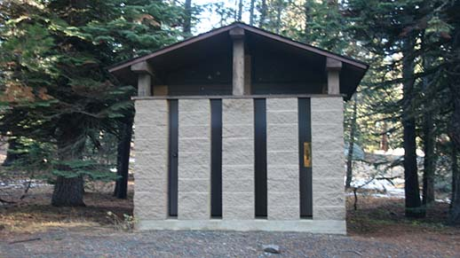 Niagara Creek Campground Restroom