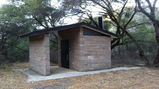 Lumsden Campground Restroom