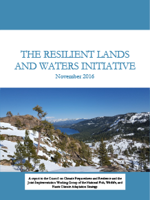 Resilient Lands and Waters Final Report, November 2016