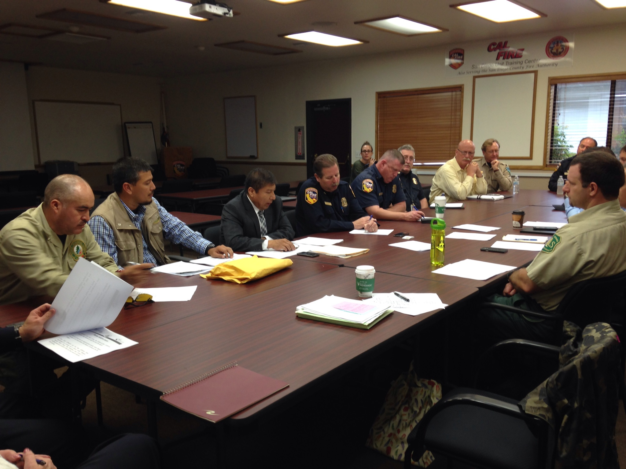 Border Fire Council Round table