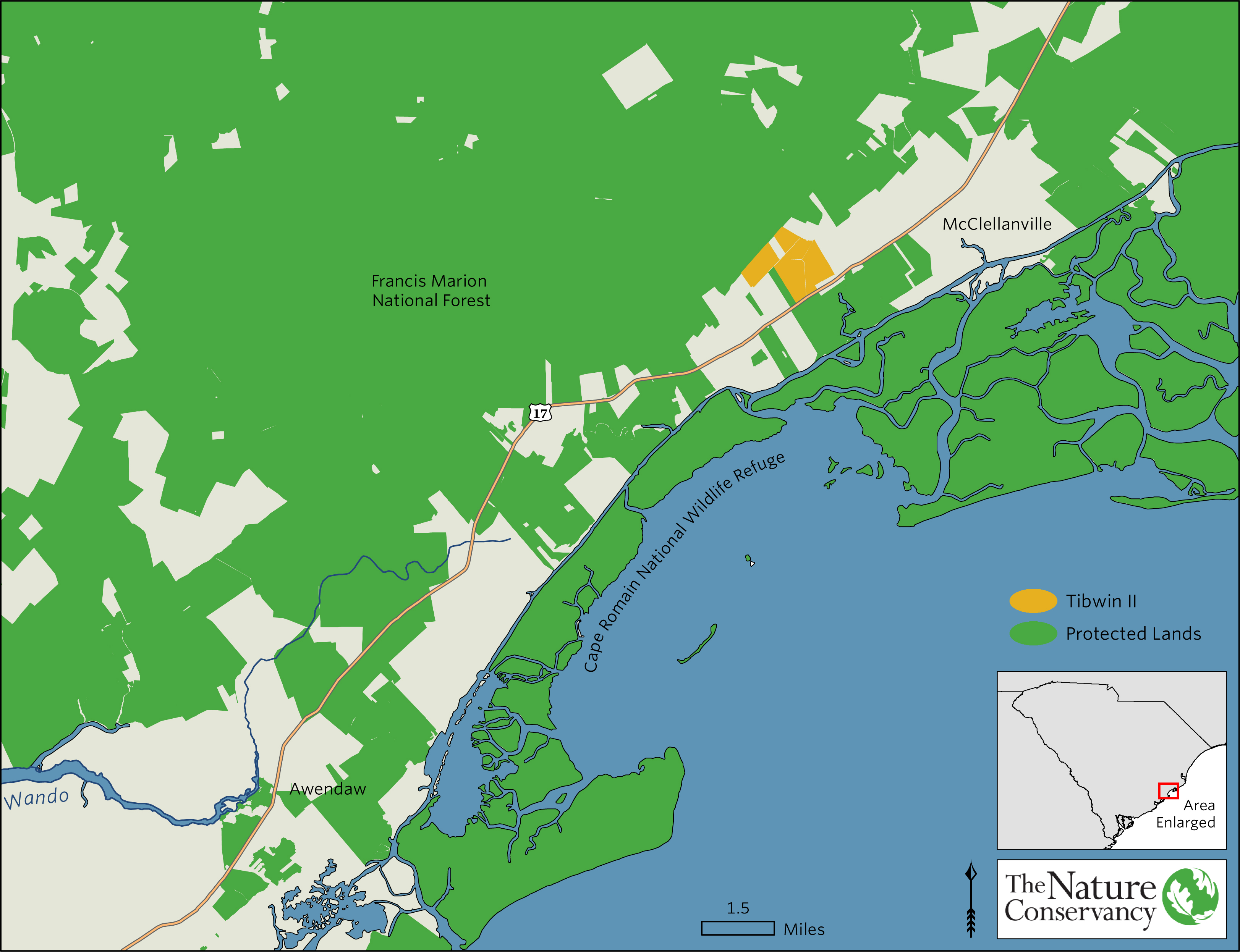 Francis Marion And Sumter National Forests News Events - Map of us forest service labs
