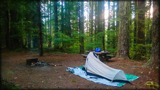 Hemlock Meadows Campground Tent Camping