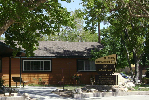 Mt. Whitney Ranger Station Administrative Offices