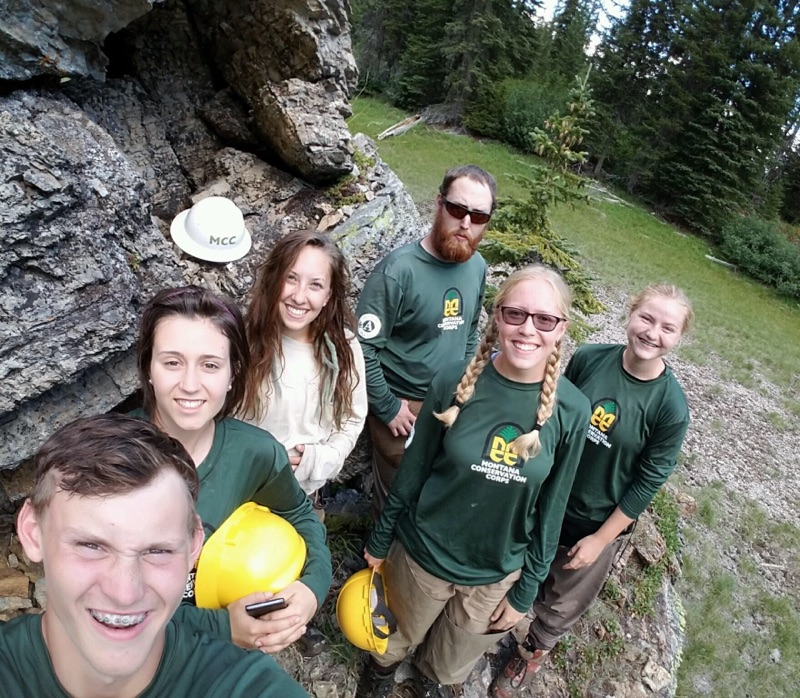 Montana Conservation Corps Group photo